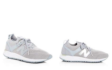 New Balance Women's Deconstructed 247 Knit Lace Up Sneakers - Bloomingdale's_2