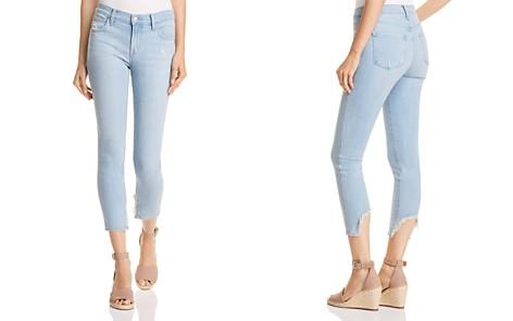 J Brand 835 Mid Rise Capri Skinny Jeans in Sky Destruct - Bloomingdale's_2