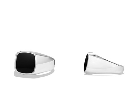 David Yurman Exotic Stone Ring with Black Onyx in Silver - Bloomingdale's_2