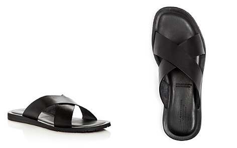 The Men's Store at Bloomingdale's Leather Slide Sandals - 100% Exclusive_2