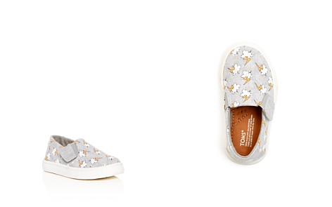 TOMS Unisex Luca Lightning Bolt Print Hemp Sneakers - Baby, Walker, Toddler - Bloomingdale's_2