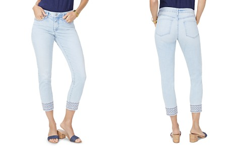 NYDJ Ami Embroidered Ankle Skinny Jeans in Palm Desert - Bloomingdale's_2