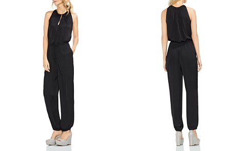 VINCE CAMUTO Satin Jogger Jumpsuit - Bloomingdale's_2