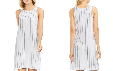 VINCE CAMUTO Pinstriped Sleeveless Shift Dress - Bloomingdale's_2