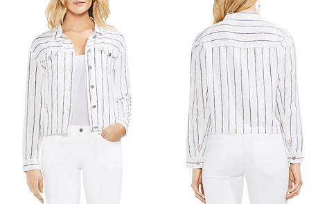 VINCE CAMUTO Lightweight Pinstriped Jacket - Bloomingdale's_2