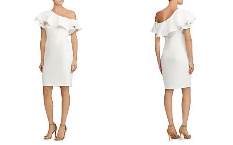 Lauren Ralph Lauren One-Shoulder Crepe Dress - Bloomingdale's_2