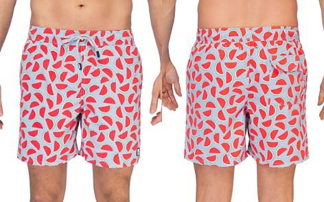 TOM & TEDDY Watermelon Print Swim Trunks - Bloomingdale's_2