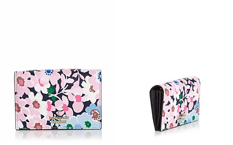 kate spade new york Cameron Street Daisy Garden Gabe Leather Card Case - Bloomingdale's_2
