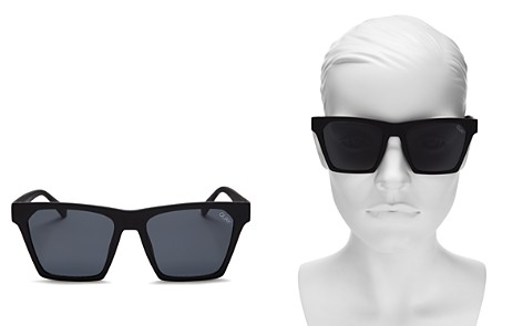 Quay Alright Square Sunglasses, 55m - Bloomingdale's_2