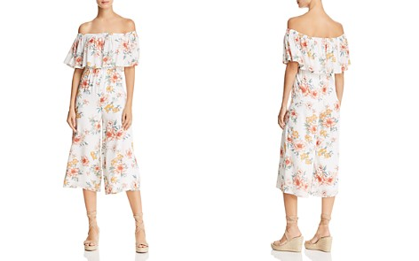 Sage the Label Gigi Off-the-Shoulder Floral Jumpsuit - 100% Exclusive - Bloomingdale's_2
