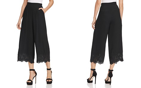 Lost + Wander Dulce de Leche Wide-Leg Pants - 100% Exclusive - Bloomingdale's_2