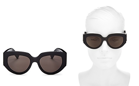 Saint Laurent Women's Oversized Cat Eye Sunglasses, 54mm - Bloomingdale's_2