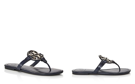 Tory Burch Women's Metal Miller Leather Thong Sandals - Bloomingdale's_2