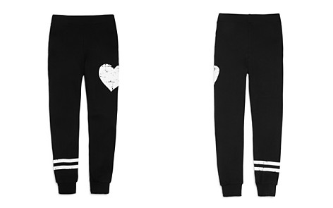 Flowers by Zoe Girls' French Terry Heart Stripe Jogger Pants - Big Kid - Bloomingdale's_2