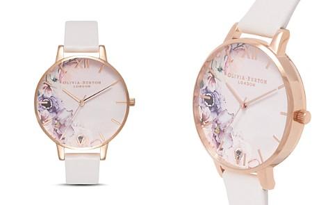 Olivia Burton Watercolour Floral Blush Strap Watch, 38mm - Bloomingdale's_2