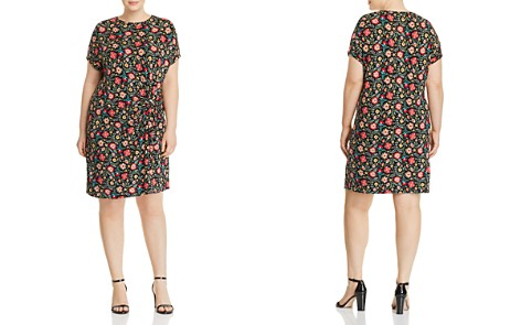 Alison Andrews Plus Knot-Front Dress - Bloomingdale's_2