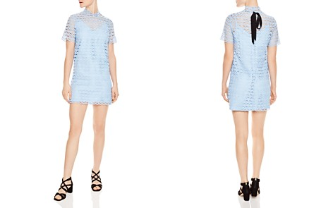 Sandro Air Lace Shift Dress - Bloomingdale's_2