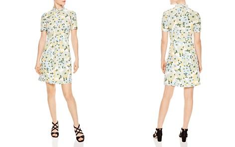 Sandro Rikka Floral Print Silk Dress - Bloomingdale's_2