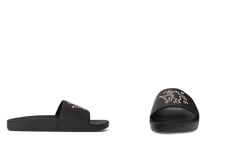 COACH x Keith Haring Dance Dog Slide Sandals - Bloomingdale's_2