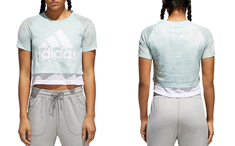 Adidas ID Tiered Cropped Top - Bloomingdale's_2
