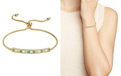 Argento Vivo 18K Gold-Plated Sterling Silver Multi Stone Bar Bracelet - Bloomingdale's_2