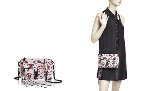 Rebecca Minkoff Floral Mini Mac Leather Crossbody - Bloomingdale's_2