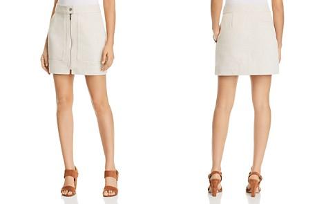 T Tahari Bitsy Zip-Front Skirt - Bloomingdale's_2