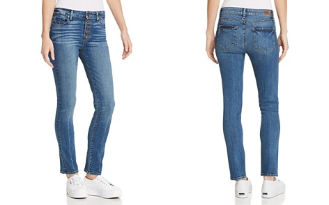 PAIGE Hoxton Ankle Peg Skinny Jeans in Salida - Bloomingdale's_2