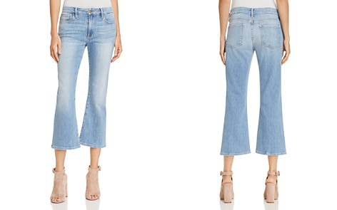 FRAME Le Crop Mini Bootcut Jeans in Tremont - Bloomingdale's_2