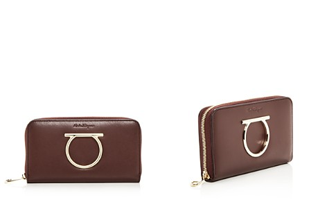 Salvatore Ferragamo Leather Continental Zip Wallet - Bloomingdale's_2