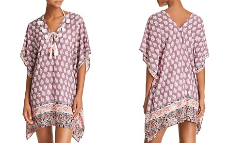 Surf Gypsy V Neck Tunic Swim Cover-Up - Bloomingdale's_2