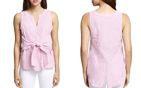 Sanctuary Cara Tie-Front Striped Top - 100% Exclusive - Bloomingdale's_2