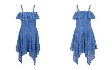 BCBGirls Girls' Ruffled Cold-Shoulder Lace Dress - Big Kid - Bloomingdale's_2