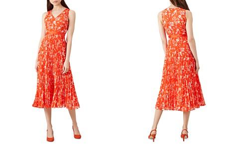 HOBBS LONDON Lilah Floral Print Pleated Dress - Bloomingdale's_2