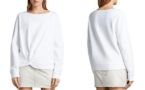 ALLSAINTS Paloma Twist-Front Sweatshirt - Bloomingdale's_2