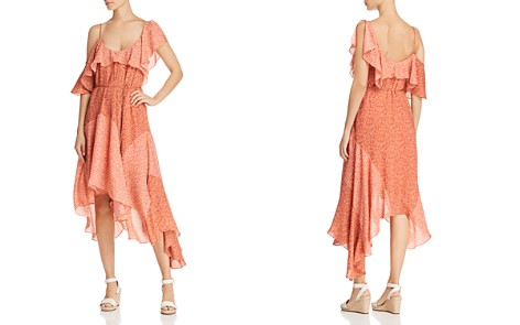 Joie Hacinthia Asymmetric Silk Dress - Bloomingdale's_2