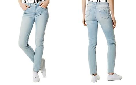 KAREN MILLEN High-Rise Skinny Jeans in Pale Denim - Bloomingdale's_2