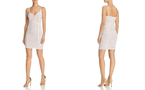 GUESS Lush Lace Body-Con Dress - Bloomingdale's_2