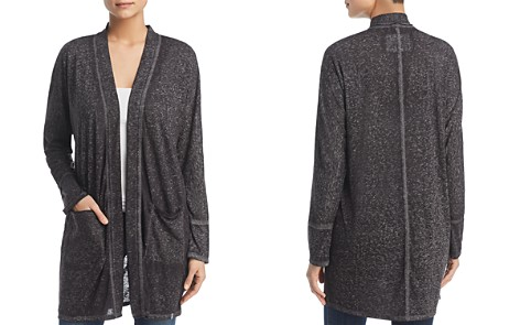 Marc New York Performance Burnout Long Open Cardigan - Bloomingdale's_2