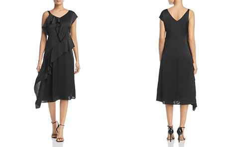 NIC+ZOE New Romantics Asymmetric Ruffle Dress - Bloomingdale's_2