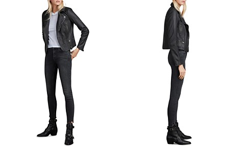 ALLSAINTS Cargo Quilted Leather Biker Jacket - Bloomingdale's_2
