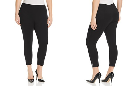Lyssé Plus Cropped Ankle-Zip Leggings - Bloomingdale's_2
