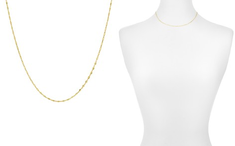 """Argento Vivo Cube Chain Necklace, 14"""" - Bloomingdale's_2"""