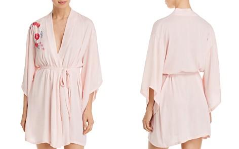 Josie Bardot Boho Embroidery Wrap Robe - Bloomingdale's_2