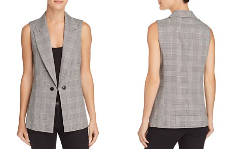 AQUA Plaid Vest - 100% Exclusive - Bloomingdale's_2