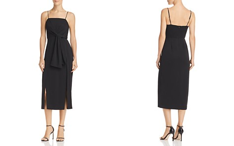 C/MEO Collective Recollect Front-Tie Sash Midi Dress - Bloomingdale's_2