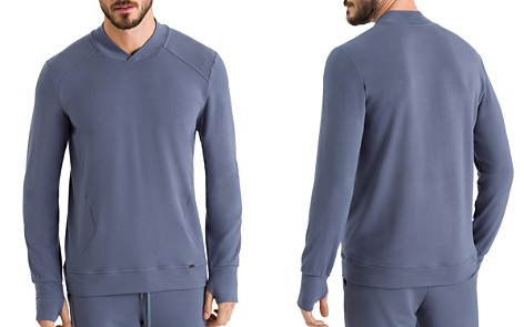 Hanro Living Relax Long Sleeve Tee - Bloomingdale's_2
