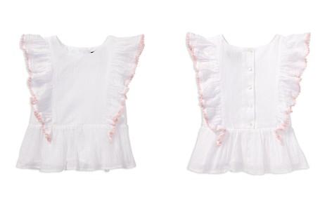 Polo Ralph Lauren Girls' Ruffled Gauze Top - Little Kid - Bloomingdale's_2