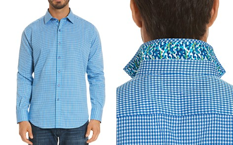 Robert Graham Baron Gingham Regular Fit Button-Down Shirt - Bloomingdale's_2