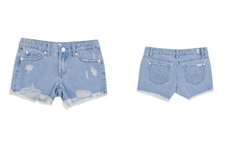 7 For All Mankind Girls' Malibu Destroyed Denim Shorts - Little Kid, Big Kid - Bloomingdale's_2